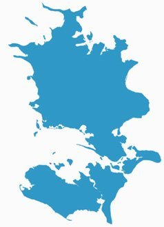 Danmark - Sjællandkort